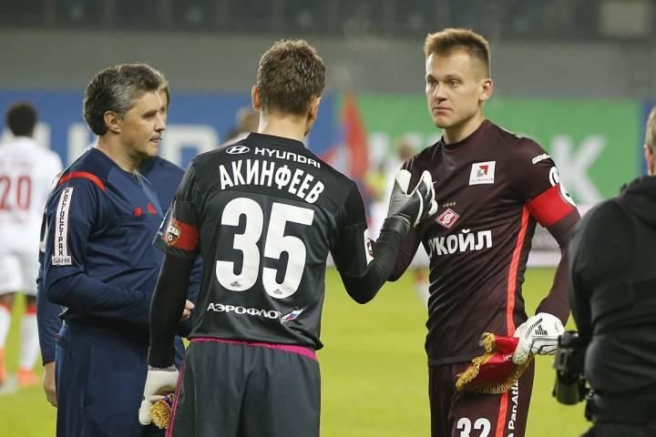 Акинфеев пропустил в40-м матче Лиги чемпионов подряд