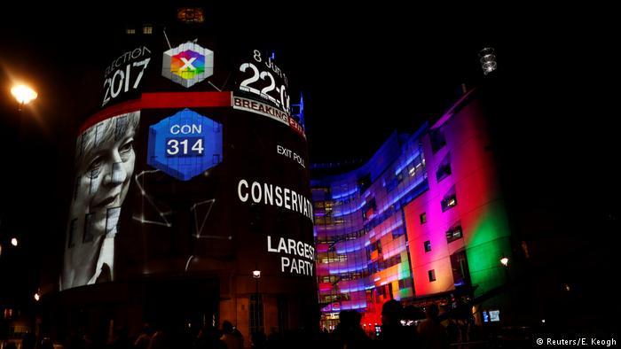 Данные Exit Poll демонстрируют лидерство консерваторов навыборах вСоединенном Королевстве