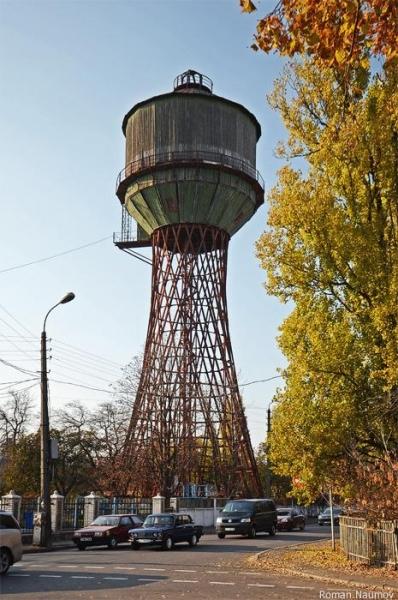 Белая церковь водонапорная башня